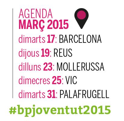 Jornades de bones pràctiques en l'àmbit de la joventut 2015